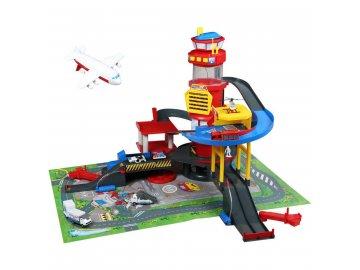 Dickie Toys Mega Letiště s autodráhou nejlevnější levně skladem levný