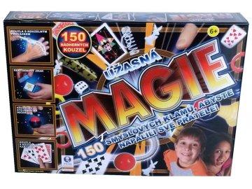Kouzelnický set kouzlo triky malý kouzelník 150 kouzel