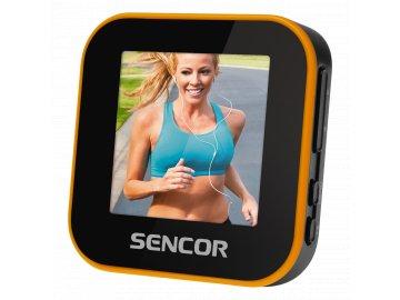 Přehrávač MP3 MP4 SENCOR SFP 6060 4GB s FM rádiem