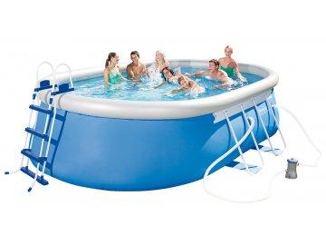 Bestway bazén Steel Pro Oval Frame 4,88 x 3,05 x 1,07 m 56447