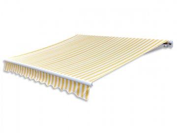 Zuki Markýza 2x1,5m bílo žlutá