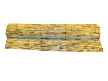 Rákosová stínící plotová rohož 1,4 x 6 m neštípaná