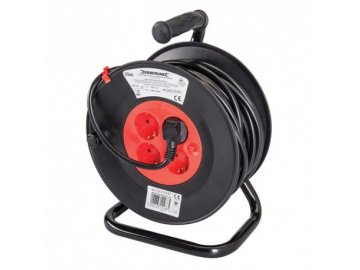 OEM prodlužovací kabel na bubnu 25m 4 zásuvky