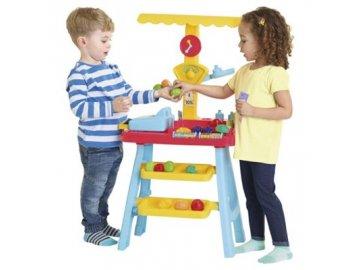 Preschool Hrací stánek s ovocem a zeleninou