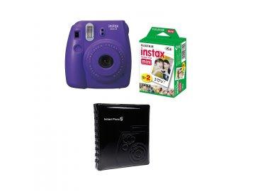 Fotoaparát Fujifilm Instax Mini 8 fialový