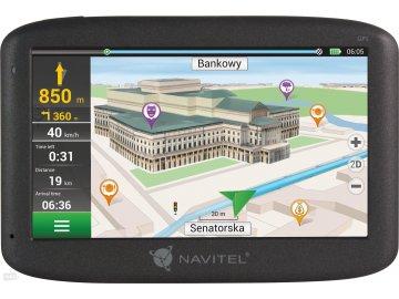 GPS navigace Navitel F300 mapa celé Evropy