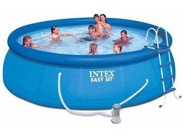 Bazén Intex 28166 Easy Set 457x107 cm s kartušovou filtrací