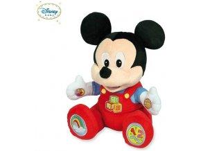 Clementoni mluvící a vzdělávací plyšový Mickey Mouse 35 cm