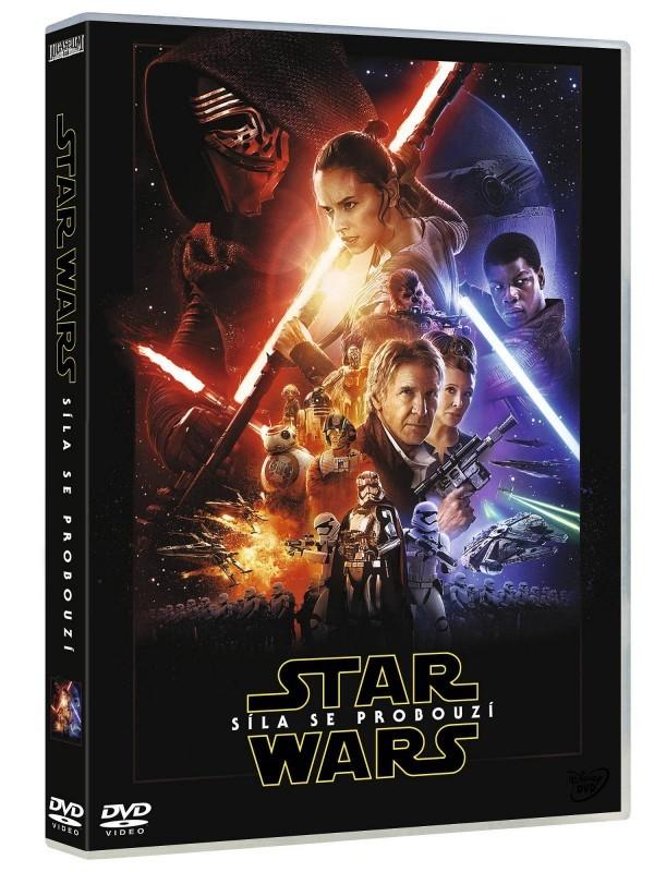 Star Wars: Síla se probouzí DVD - DOPRAVA ZA 49,- Kč (ZÁSILKOVNA.CZ)