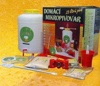 Domácí mikropivovar Mr. Sládek - Present set uvaříte 20 l piva